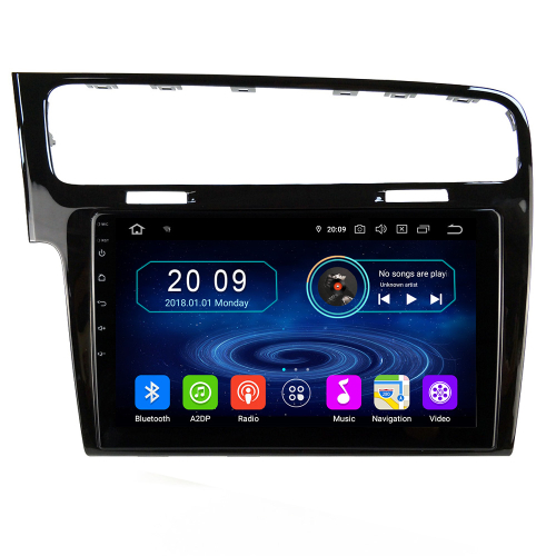 Volkswagen Golf7 MK7 10,1 Android 9.0 Touchscreen Navigation GPS Head Unit USB