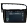 """10,1"""" Touchscreen Android Head Unit Navigation GPS USB for Volkswagen Golf7 MK7"""