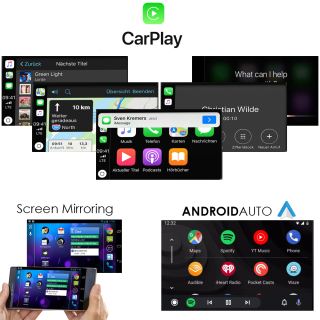 Wireless Carplay AndroidAuto USB Interface Mirroring WiFi...