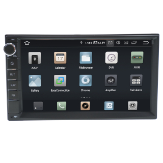 """7"""" Touchscreen Android Head Unit Navigation GPS USB..."""