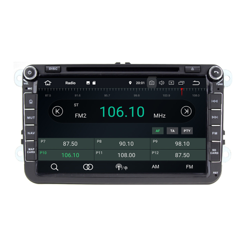 8 Touchscreen Android Head Unit GPS Navigation for Seat Skoda VW Golf 5 Golf 6