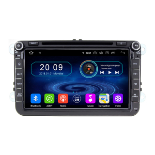 Android 8 Multimedia GPS Navigation fr. Volkswagen Seat...