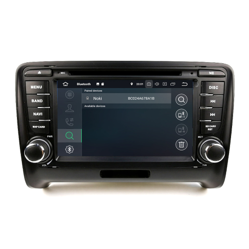 Audi TT Android 8 Autoradio Touchscreen GPS 3D Navi Bluetooth WIFI DVD USB SD
