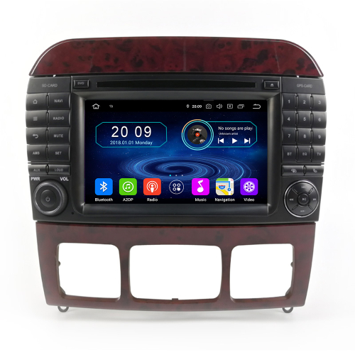 mercedes benz w220 s280 s320 s430 s500 s550 w215 cl550 android touchscreen navi. Black Bedroom Furniture Sets. Home Design Ideas