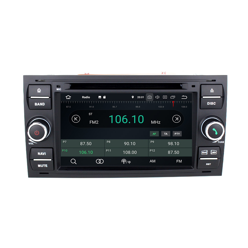 ford fusion galaxy s max android 8 autoradio gps navi. Black Bedroom Furniture Sets. Home Design Ideas