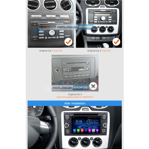 ford fusion galaxy s max android headunit gps navi. Black Bedroom Furniture Sets. Home Design Ideas