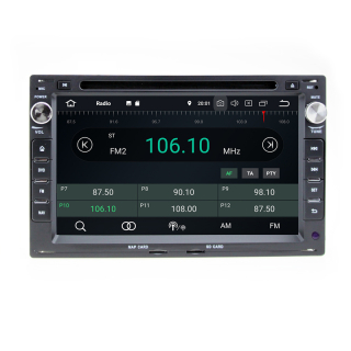 """7"""" Touchscreen Android Head Unit DVD GPS Navigation for Peugeot 207 307"""