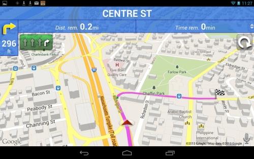 Window CE Navigation Software with aktuellem Europa-Kartenmaterial.