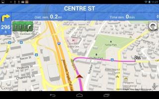 Window CE Navigation Software with aktuellem...