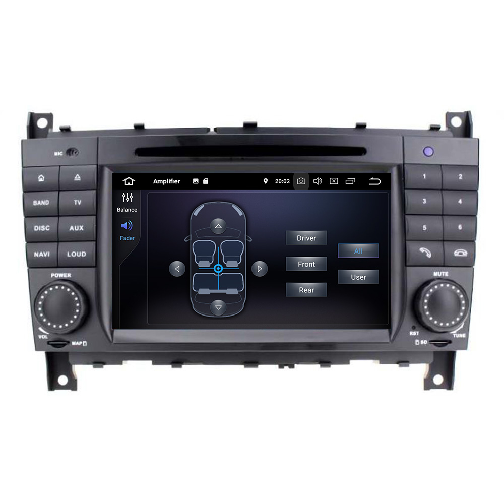 mercedes benz c g klassse w203 clk android gps navi. Black Bedroom Furniture Sets. Home Design Ideas