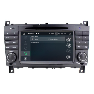"""7"""" Touchscreen Android Head Unit GPS Navi CarPlay for Mercedes Benz W463 W203"""