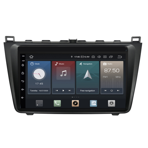 Mazda 6 Android 8 Autoradio Touchscreen Bluetooth GPS 3D Navi DVD USB SD WIFI