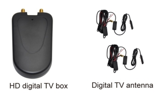 S100 HD ISDBT  TV Tuner mit Antenna South America