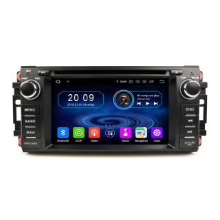 Chrysler Dodge Jeep Android 7 Touchscreen Headunit GPS...