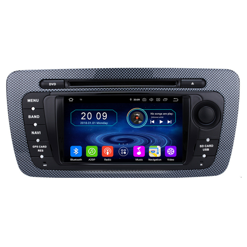 seat ibiza android autoradio touchscreen gps 3d navi dvd bluetooth wifi usb sd. Black Bedroom Furniture Sets. Home Design Ideas