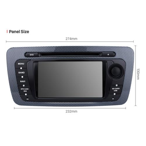 seat ibiza android headunit touchscreen gps 3d navi dvd. Black Bedroom Furniture Sets. Home Design Ideas