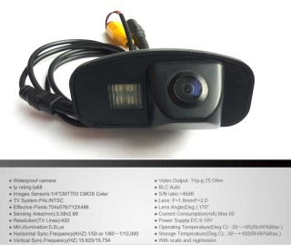 Rear Light Back Up Camera with Distance Parking lines...