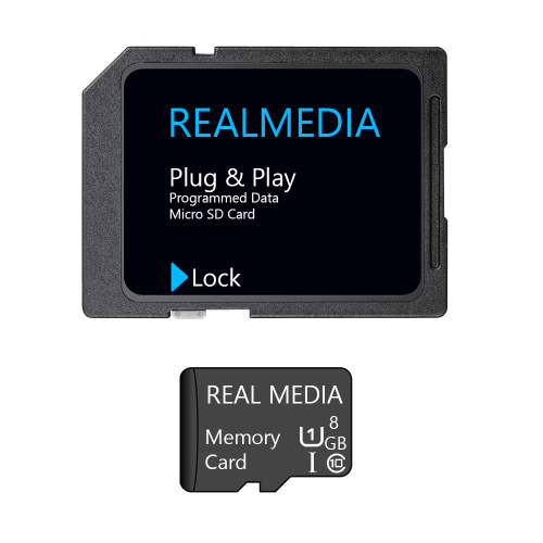 8GB microSD Class 10 UHS-I Karte Speicher Karte + SDHC Memory Card Adapter