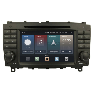 Mercedes benz clk w209 android touchscreen autoradio gps for Mercedes benz navigation dvd download