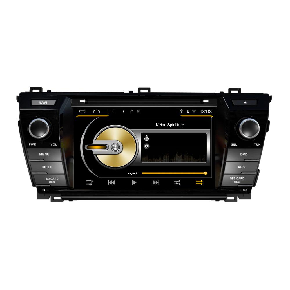 Toyota Corolla Android Headunit GPS Navi DVD Touchscreen Bluetooth WIFI USB  SD
