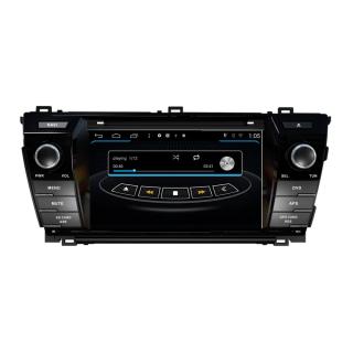 "7"" Touchscreen Android Autoradio USB Navigation für Toyota Corolla"