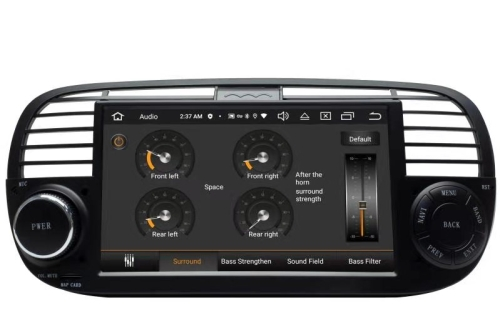 fiat 500 headunit android gps navigation touchscreen dvd. Black Bedroom Furniture Sets. Home Design Ideas