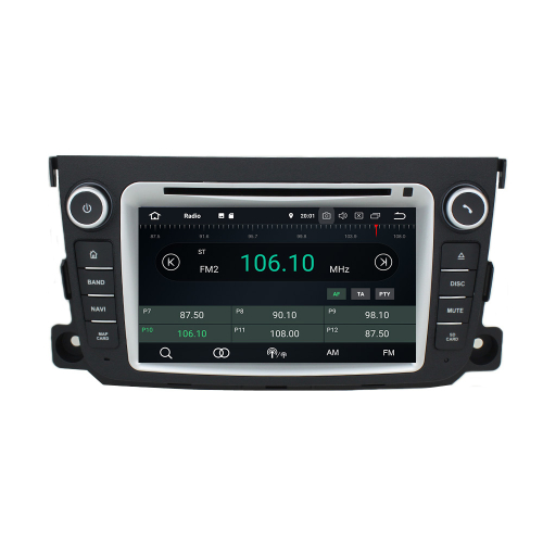 Smart Android 9 Headunit Car Radio Touchscreen Navigation DVD Bluetooth USB WIFI