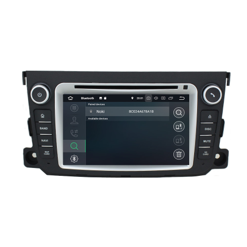 Smart Android 8 Headunit Car Radio Touchscreen Navigation DVD Bluetooth USB WIFI