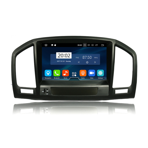 Opel Insignia Android 8 Autoradio Touchscreen 3D GPS Navi Bluetooth USB WIFI
