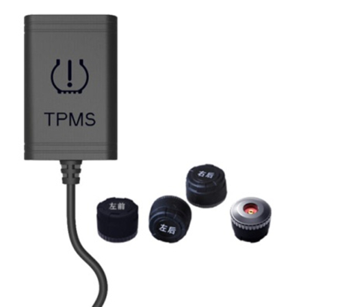 TPMS Tire Pressure System for Android Head Unit with 4 external Sensors