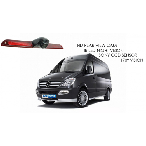 Mercedes Sprinter VW Crafter Brakelight Backup Camera Infrared Night Vision IR
