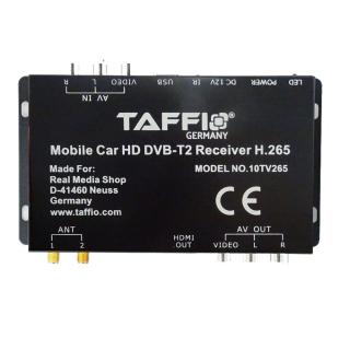 Universal KFZ AUTO DVB-T2 H.265 HD DIGITAL RECEIVER MPEG4...