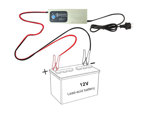 Lead Acid Battery Charger Fully Automatic 8 Step Charging