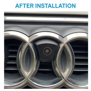 Frontkamera Einparkhilfe für Audi Kühlergrill.