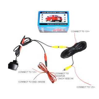 Front Camera Parking System for Audi Front Grill