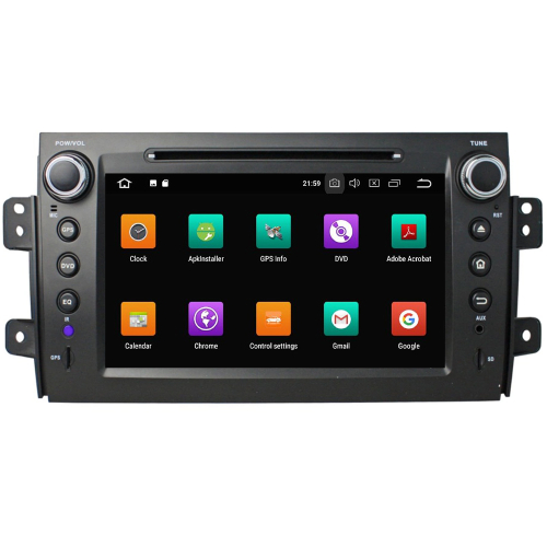 suzuki sx4 fiat sedici android autoradio gps touch navi. Black Bedroom Furniture Sets. Home Design Ideas