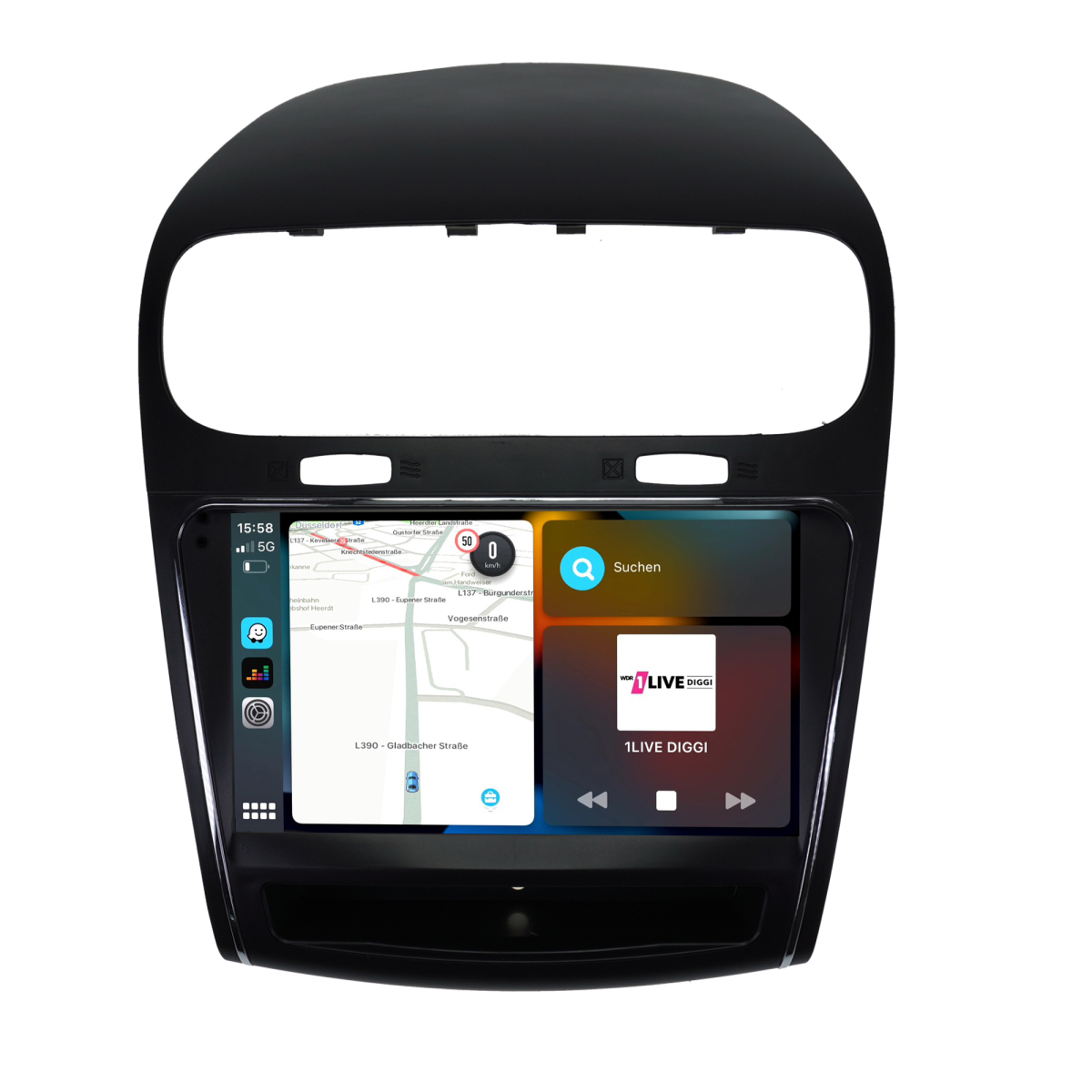 Fiat Freemont Dodge Journey Inch Hd Touchscreen Android Gps Navi Sd Usb on Dodge Journey Dvd Player