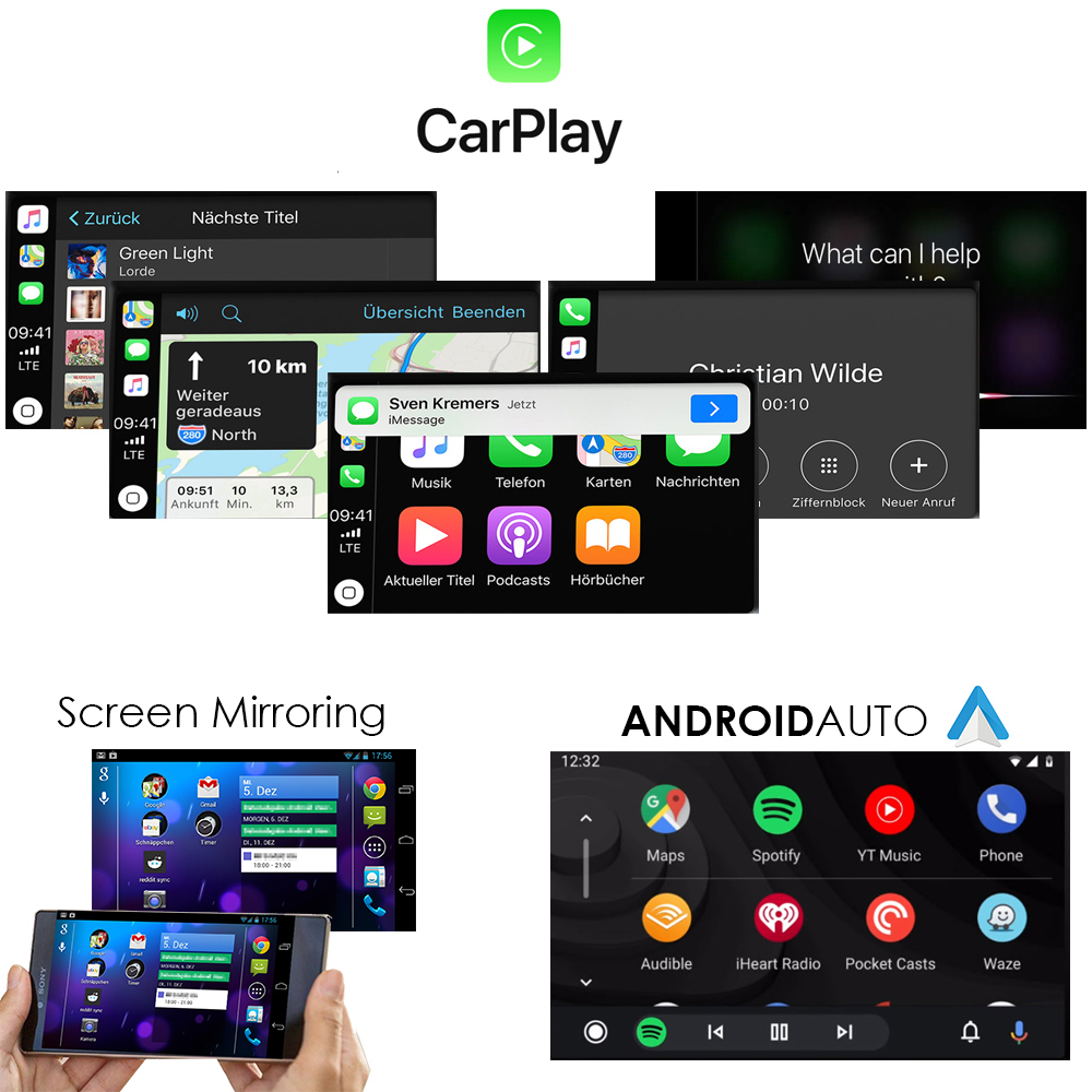 audi mmi 3g / 3g+ apple iphone carplay usb smartbox nachrüstung modul