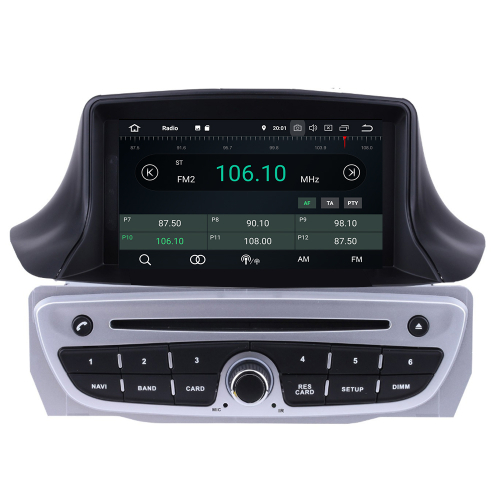 renault megane 3 android 8 0 autoradio gps navi touchscreen bt dvd us. Black Bedroom Furniture Sets. Home Design Ideas