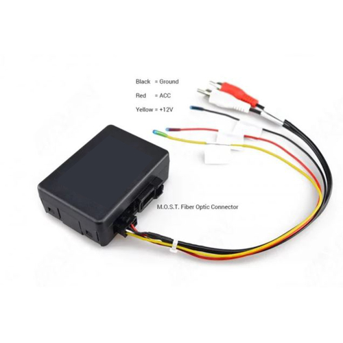 BMW E90, E91 E92 E93 E60 E61 E81 E82 E83 E84 MOST Fibre Optic AUDIO GATEWAY RCA
