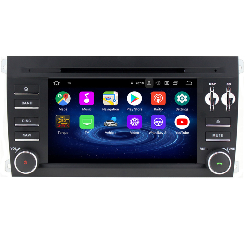 Porsche Cayenne 4GB RAM Android 8.0 Autoradio Touchscreen GPS Navigation DVD USB