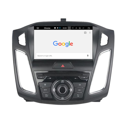Ford Focus Android 8 Headunit 3D GPS Navi Touchscreen DVD Bluetooth SD WIFI USB
