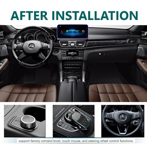 TAFFIO® | Mercedes Benz E Class W212 NTG4 10,25 Android 8 1