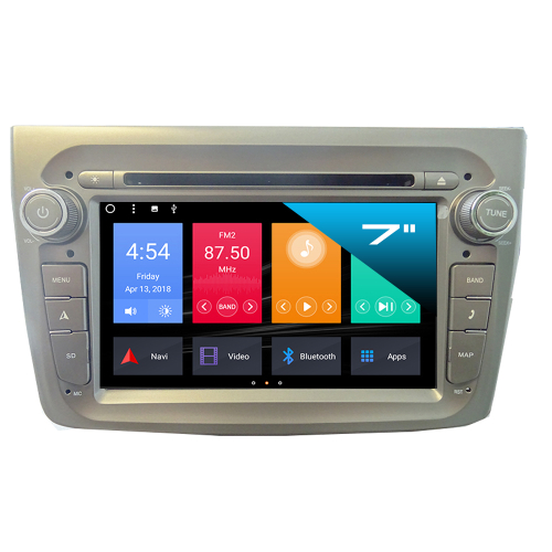 alfa romeo mito android autoradio 3d gps navi touchscreen. Black Bedroom Furniture Sets. Home Design Ideas