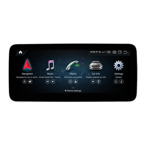 Mercedes Benz GLK NTG4 X204 10,25 Android 8 Touchscreen