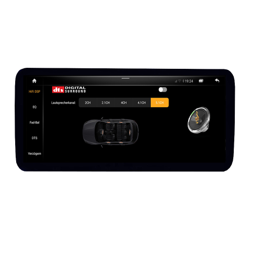 AUDI A6 S6 RS6 MMI 2G HIGH 10,25 Android 8.1 Touchscreen GPS Navigation USB